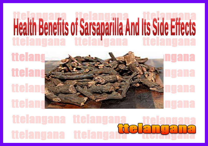 Health Benefits of Sarsaparilla And Its Side Effects