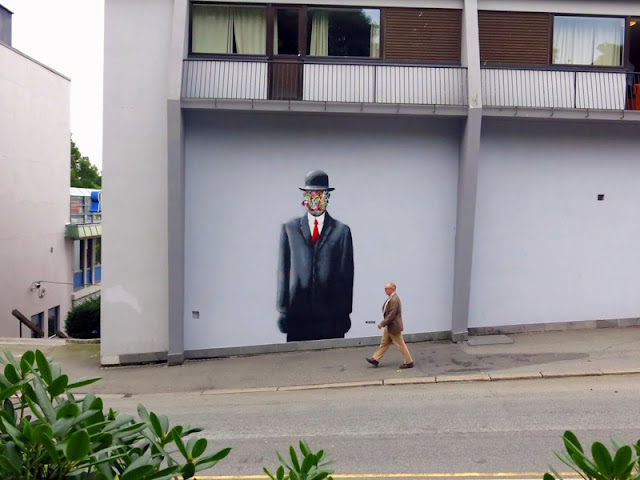 Street Art Murals By Martin Whatson In Stavanger Norway For Nuart Urban Art Festival. 2