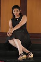 Khanishka new telugu actress in Black Dress Spicy Pics 14.JPG