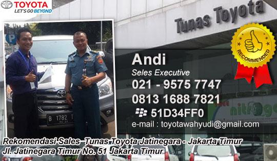 Rekomendasi Sales Tunas Toyota Jatinegara, Jakarta Timur