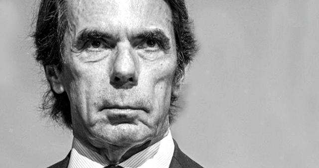 """Aznar: """"Estamos en manos de un irresponsable acompañado por chavistas, comunistas y separatistas"""""""