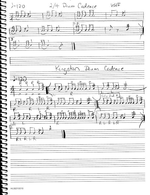 Snare Drum Solo Military Drum Cadences