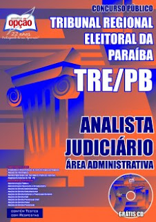 Apostila Completa TRE-PB ANALISTA JUDICIÁRIO PDF.