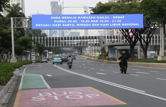 Ganjil Genap motor Jakarta 2020