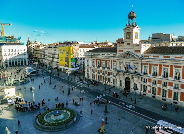 Porta do Sol, Madri