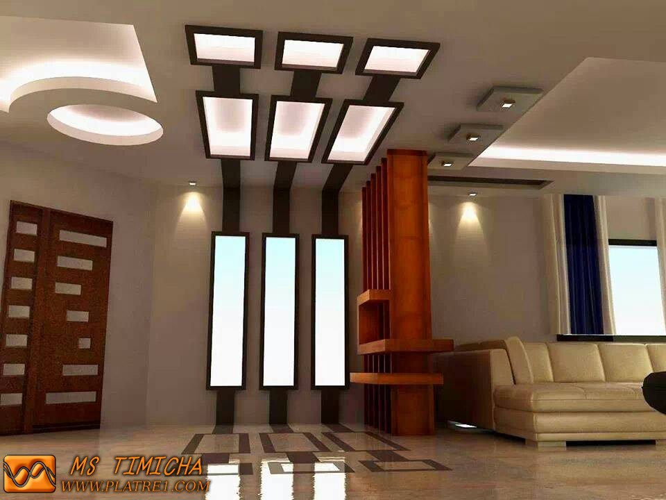 Decoration platre moderne algerie for Decoration platre salon