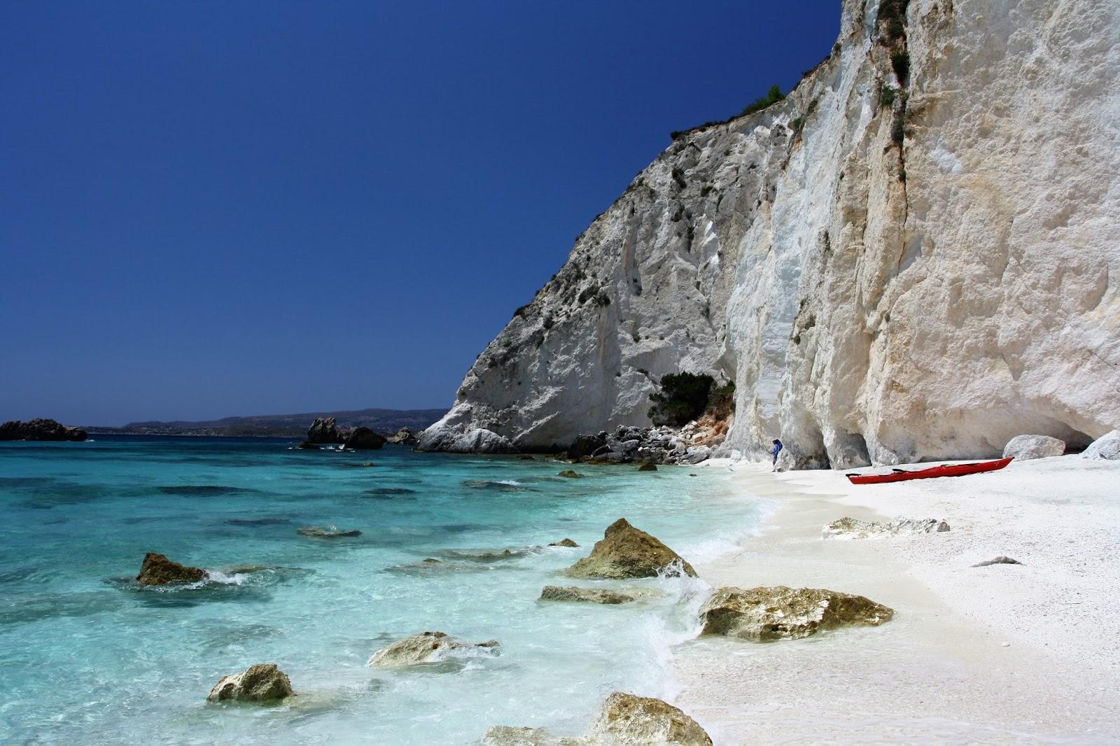 Zeekajakken Ionische zee Kefalonia