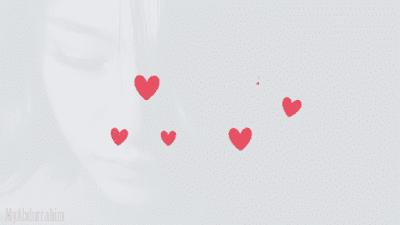 text delight, Hati, Hearts