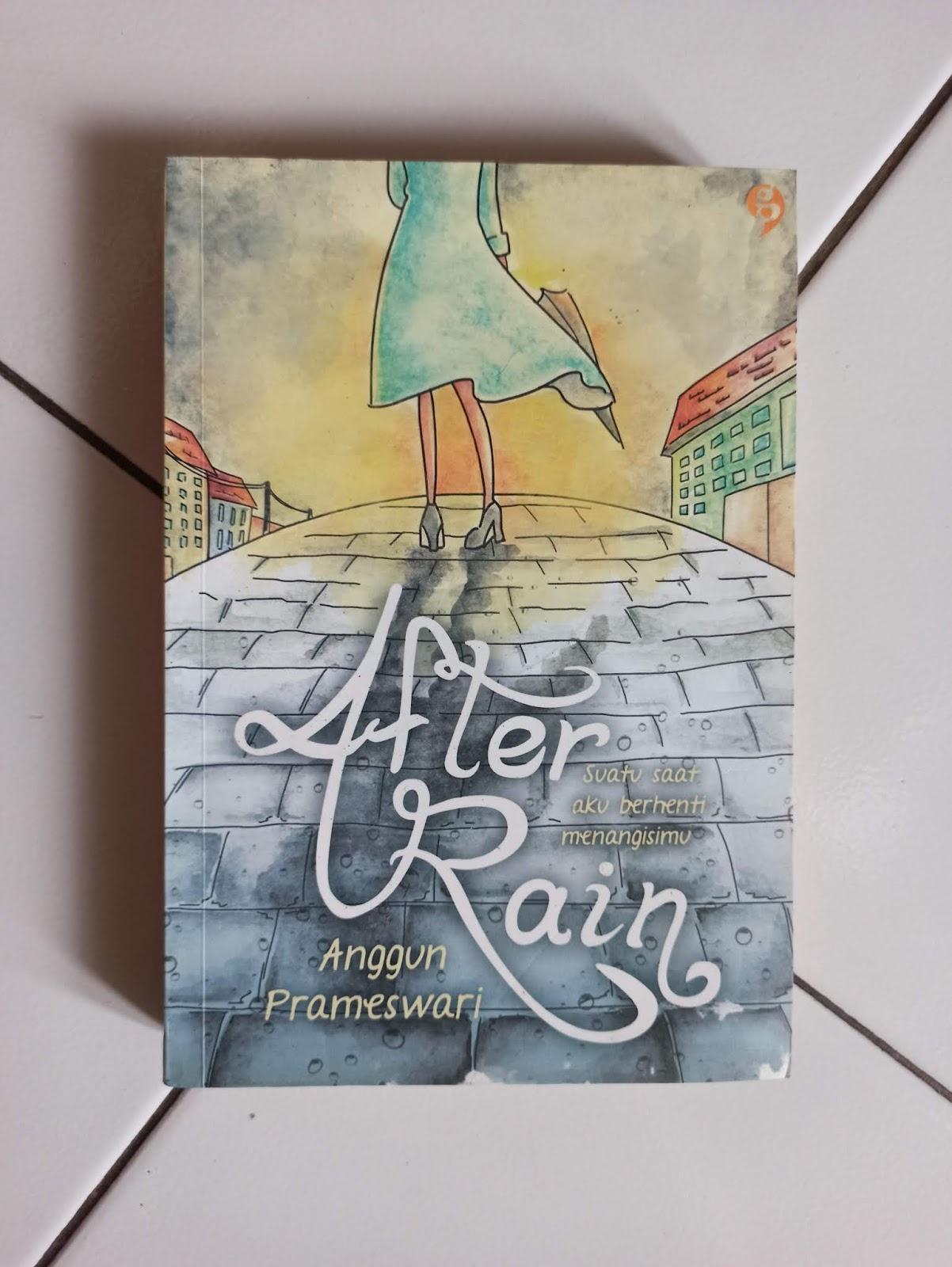 Novel Bekas After Rain Anggun Prameswari