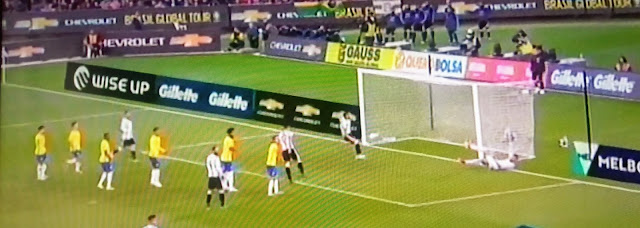 Sampaoli debutó con un triunfo ante Brasil en Melbourne