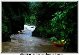 Pacu Adrenaline!! Wisata Arung Jeram Sungai pakelan Probolinggo
