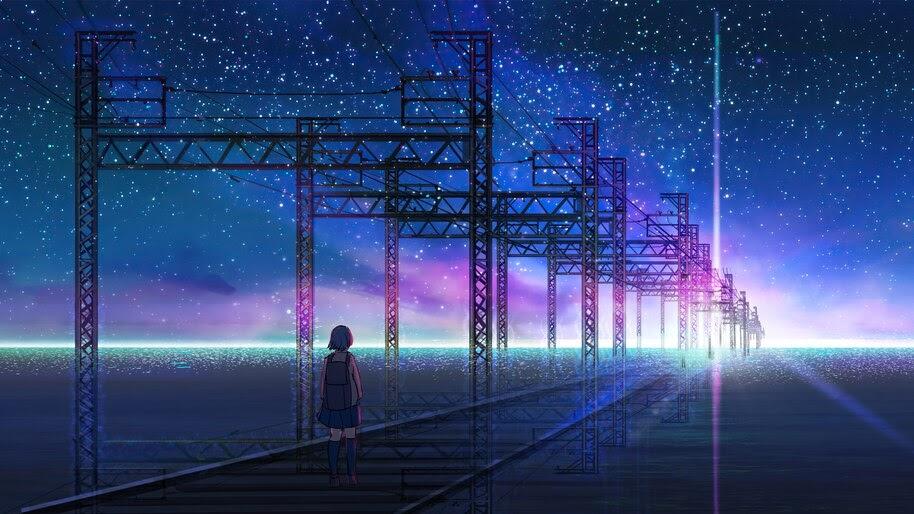 Anime, Sunrise, Scenery, Horizon, 4K, #6.2597