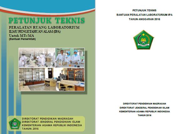 Juknis Bantuan Peralatan Laboratorium Ipa Mts Dan Ma