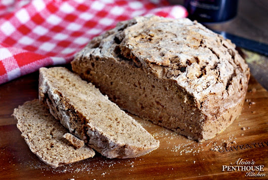 Quick Rustic Stout Beer Bread