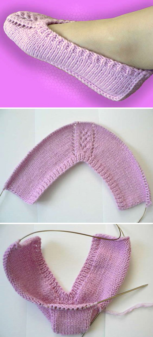 Beautiful Slippers - Free Pattern