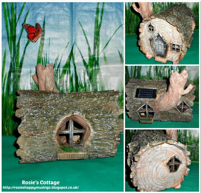 Solar Powered Fairy Home