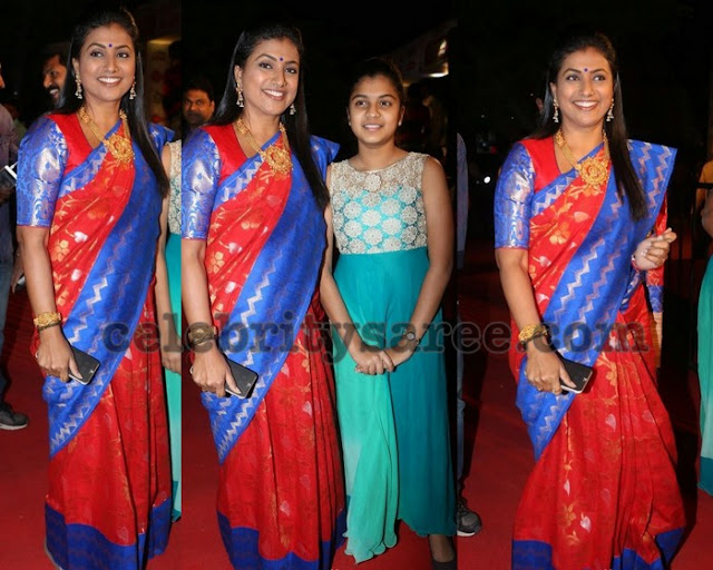 Roja at Gemini TV Puraskar Awards