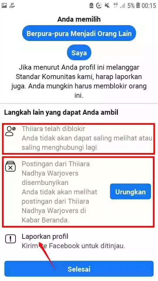 Cara Melaporkan Akun FB Palsu Agar ditutup Permanen