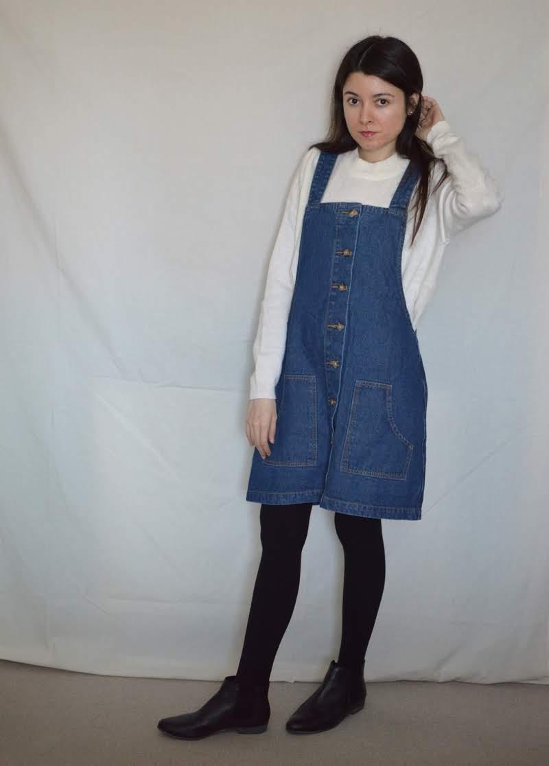 denim dress01 DENIM DRESS