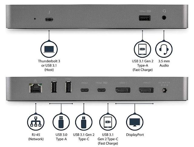 StarTech Thunderbolt 3 USB-C Docking Station