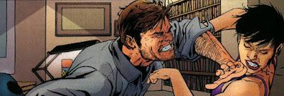 Hank pym espancando a vespa