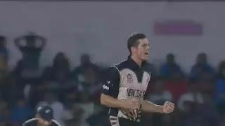 Mitchell Santner 4-11 vs India Highlights