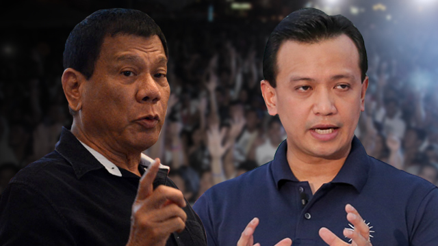 Duterte fires back Trillanes: You are a soldier of misfortune
