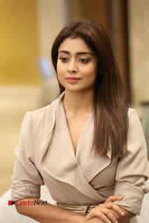 Actress Shriya Saran Stills in Stylish Dress at Gautamiputra Satakarni Team Press Meet  0074.JPG