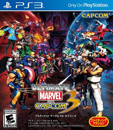 Ultimate Marvel vs Capcom 3 PS3 ISO