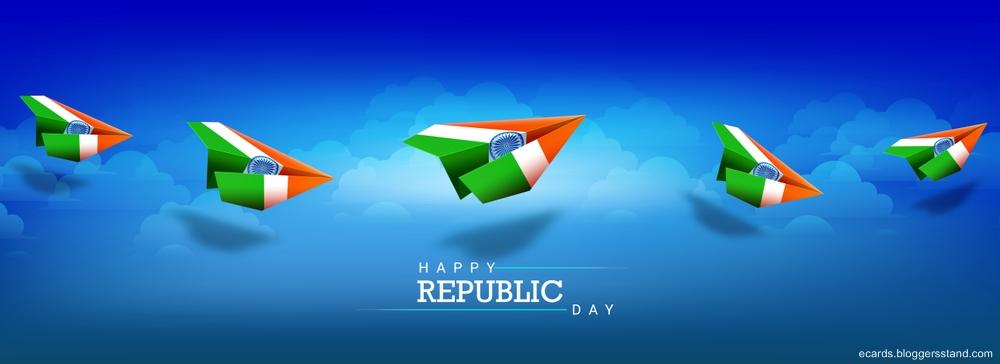 Happy republic day facebook cover 2021