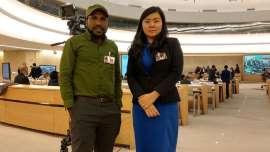 Veronica Koman Enggan Ungkap Cara Memberikan Data Papua ke Jokowi
