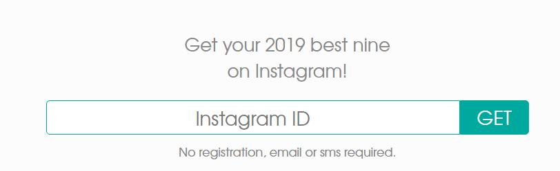 Cara Buat #2019bestnine di Instagram