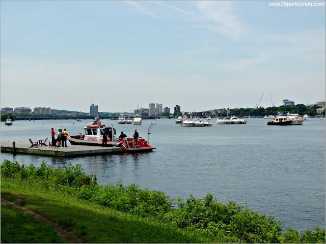 Río Charles durante el 4 de Julio