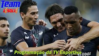 Programação da TV Esportiva ''domingo'' 28/06/20