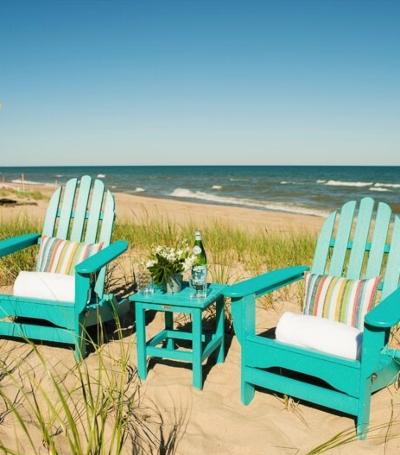 Adirondack Set Colors Turquoise