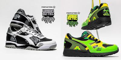 Urban Aztec Diadora Sneakers by Jesse Hernandez x Footaction