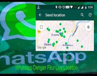 Whatsapp Dengan Fitur Live Location