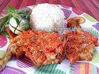 Resep Ayam Penyet Sederhana Gurih Pedas Meresap