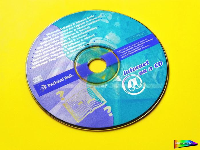Packard Bell - Internet on a CD 1998