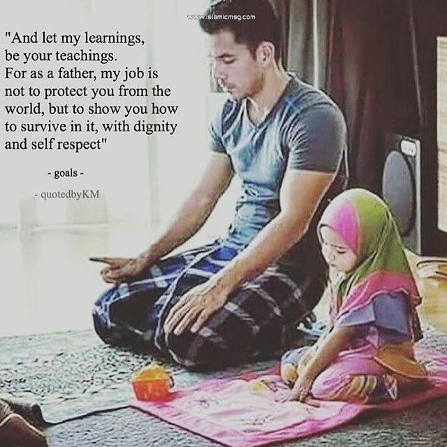 learning nimaz father