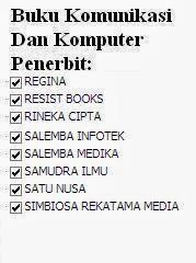 Buku Komunikasi dan Komputer Penerbit Regina, Resist, Rineka, Salemba, Medika Online Murah