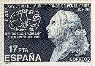 II CENTENARIO DE LA MUERTE DE XAVIER MARÍA DE MUNIVE, CONDE DE PEÑAFLORIDA