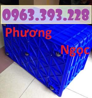Thùng nhựa 5 bánh xe, thùng nhựa đẩy hàng, thùng nhựa công nghiệp E018db9a84fa61a438eb