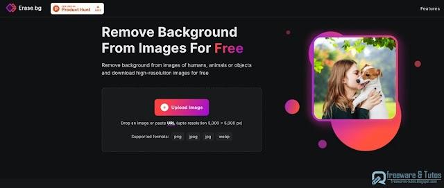 Erase.bg : un outil en ligne pour supprimer automatiquement l'arrière-plan des photos