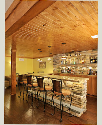 New Pic of Cheap Basement Man Cave Ideas Bar Stonework Ski Lodge Woods Themes