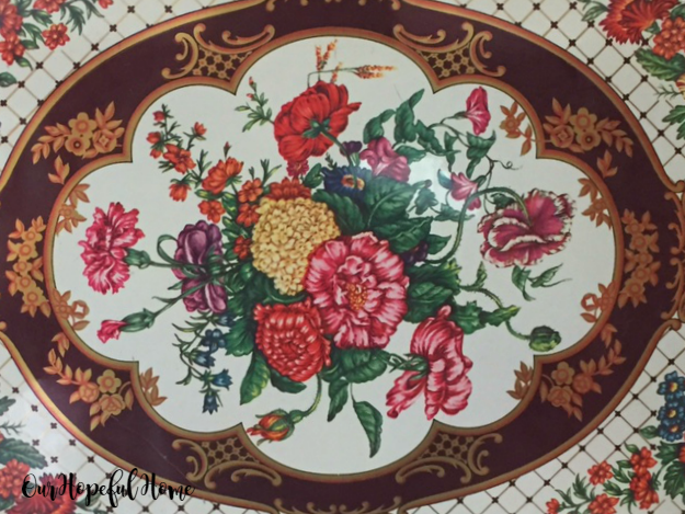 Daher Decorated Ware Tray 1971