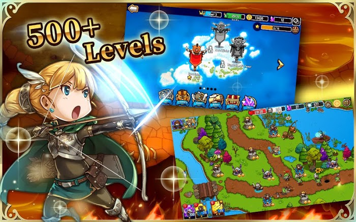 Crazy Defense Heroes (MOD. One Hit) APK Download – Myappsmall provide Online Download Android Apk And Games