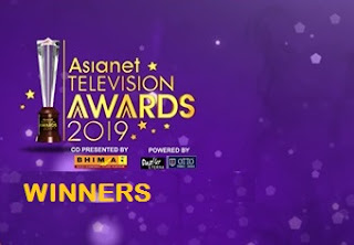 Asianet television awards 2019 Winners List | Telecast Details