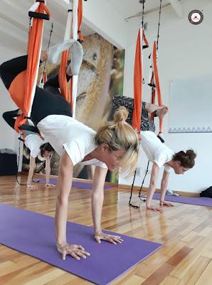 qu'est-ce que le yoga aérien,