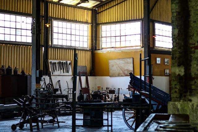 Museu Ferroviário, Paranapiacaba-SP. Foto: Carina Pedro blog